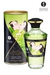 Huile chauffante - Sorbet de minuit : Huile aphrodisiaque comestible et chauffante, activée par la chaleur de la peau ou les baisers, by Shunga.