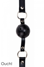 Gag Ball noir - Ouch!