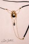 String Scarabée Sacré - or