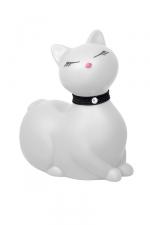 I Rub My Kitty Travel - blanc : Après le canard mondialement connu, Big Tease Toys nous présente le chat!