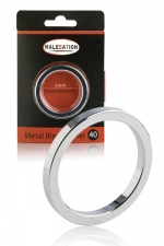 Cockring Metal Ring Starter - Malesation : La bague de pénis idéale pour s'initier au port des cockrings en métal.