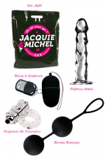 Pack sextoys Merci Qui : Le pack de 4 sextoys de la collection Jacquie et Michel à prix promotionnel.