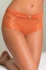 Boxer Lili Chérie - Aimée L : Boxer élégant et confortable avec petit ornement et nœud sur le devant,assorti au soutien gorge Lili Chérie, marque Aimée L.