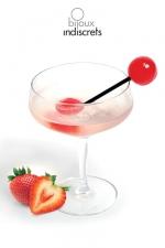 Sucette Bi : Sucette à partager saveur fraise, vin pétillant. Une invitation à toutes les gourmandises !