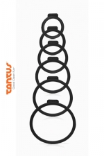 Kit O Ring - Tantus : 6 anneaux de tailles différentes pour adapter le sextoy de votre choix à votre harnais Tantus.