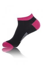 Chaussettes courtes  J&M - noir : Paire de chaussettes Jacquie et Michel pour hommes, tige basse, coloris noir.