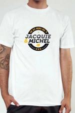 T-shirt Jacquie & Michel n°2 : Le Tee-shirt exclusif (visuel 2) à l'effigie de  Jacquie & Michel, votre site amateur préféré.