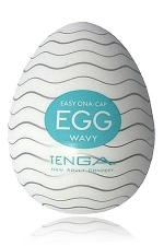 Tenga Egg Wavy : Egg Wavy, un masturbateur de nouvelle génération  en forme d'oeuf, signé Tenga, le génial fabricant japonais.