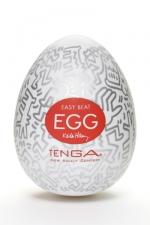 Tenga Egg party - Keith Haring : Masturbateur Tenga EGG Party , un sextoy collector avec design et texture exclusive.