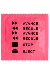 Préservatif humour - Avance Recule : Préservatif
