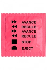 Préservatif humour - Avance Recule