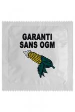 Préservatif humour - Garantie Sans Ogm