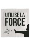 Préservatif humour - Utilise La Force